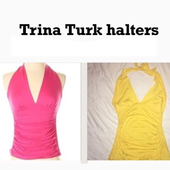Trina Turk Tops - Trina Turk halters sz small